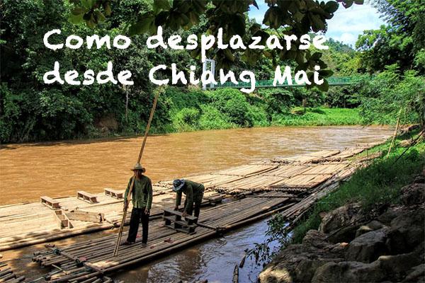 Como desplazarse desde Chiang Mai