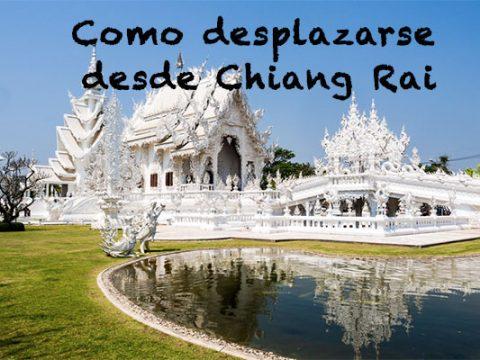 Como desplazarse desde Chiang Rai