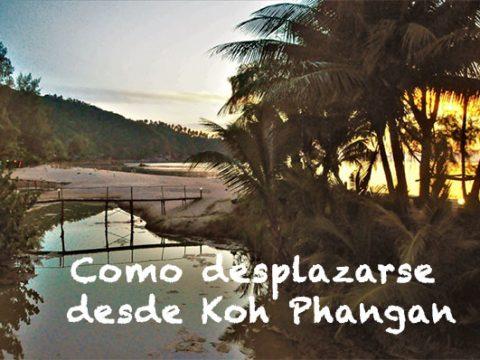 Como desplazarse desde Koh Phangan