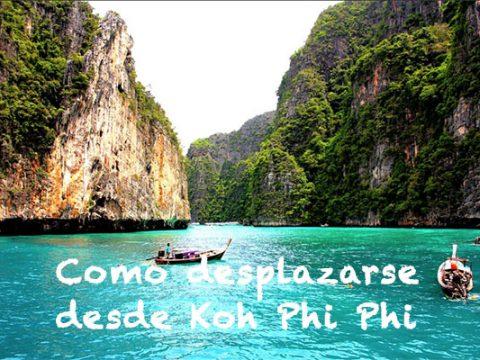 Como desplazarse desde Koh Phi Phi